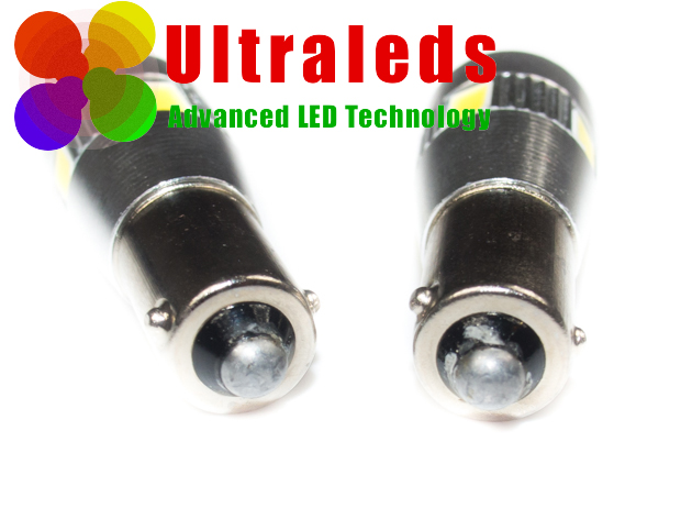 Postojówki LED canbus H6W BAX9S - 6 LED x SMD 5630 + soczewka